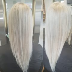 Platinum/ice blond